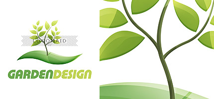 Garden Design Business Cards 20 creative unique glossy logo & business card collections