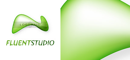 Creative Unique Glossy Attractive Web 2.0 Logo