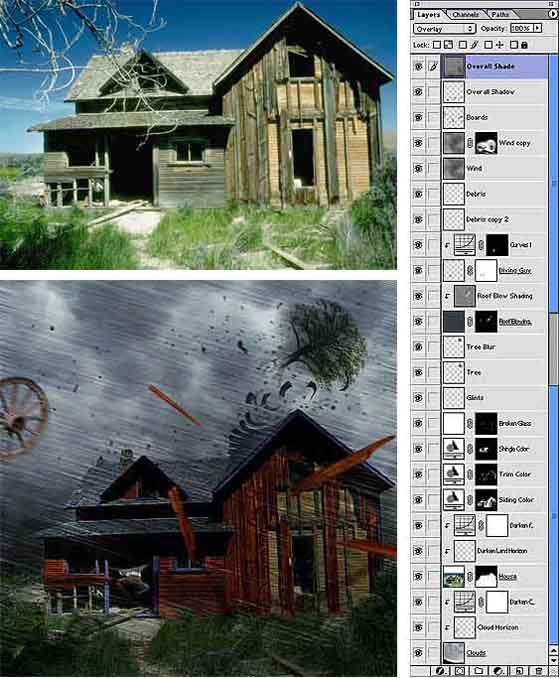 Excellent Photoshop Tutorial Collection of Photo Manipulation