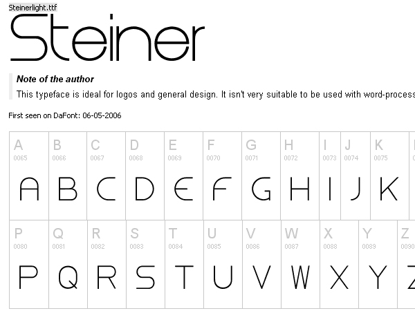 50+ Free Fonts Collection for Web Designers and Logo Artists