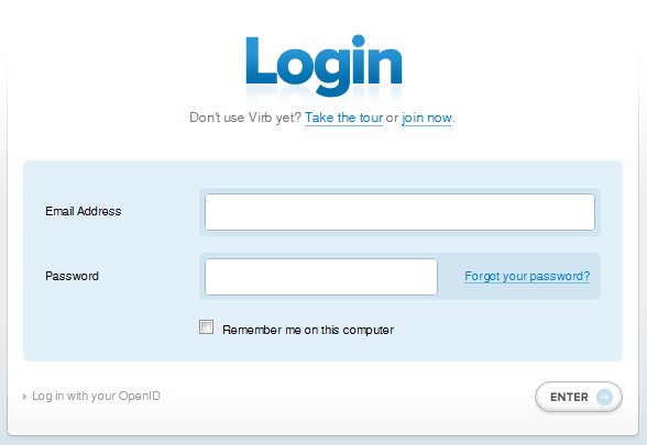 25 Cool Sign Up and Login Form Designs 6