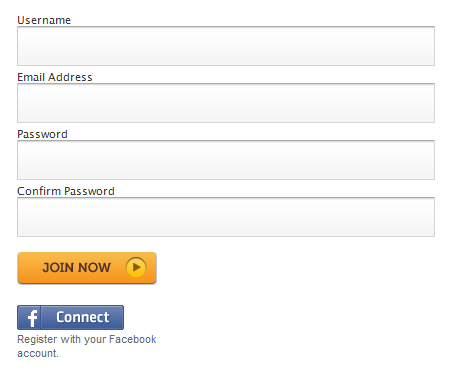 25 Cool Sign Up and Login Form Designs 7