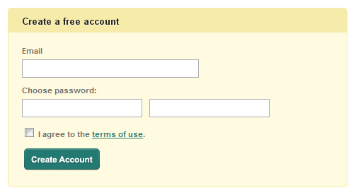 25 Cool Sign Up and Login Form Designs 9