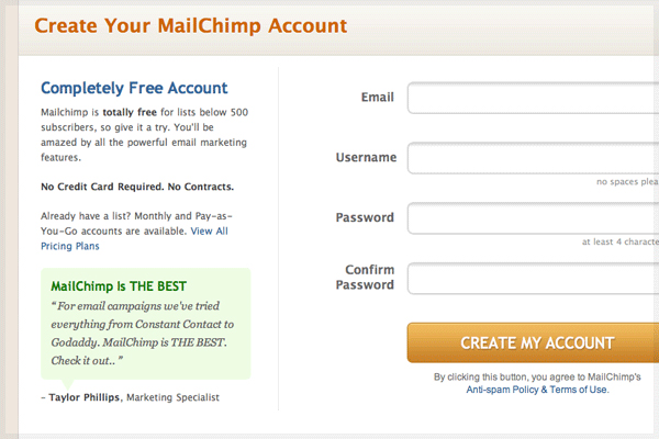 25 Cool Sign Up and Login Form Designs 2