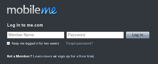 25 Cool Sign Up and Login Form Designs 3