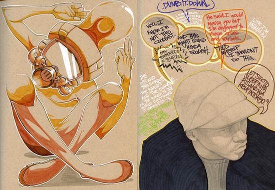 Fantastic Illustrations by Francisco Perez