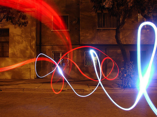 40+ Awesome Light Graffiti Pictures