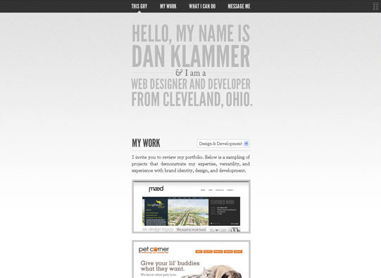 30+ Beautiful DIV/CSS Web Designs To Inspire You 1