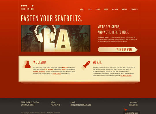30+ Beautiful DIV/CSS Web Designs To Inspire You 12