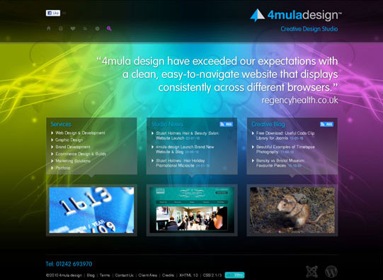 30+ Beautiful DIV/CSS Web Designs To Inspire You 6