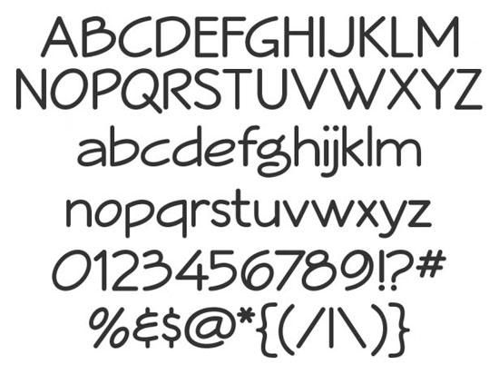14 High Quality Fresh Free Fonts 10