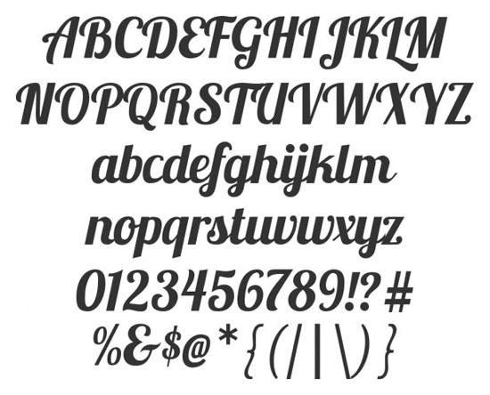 14 High Quality Fresh Free Fonts