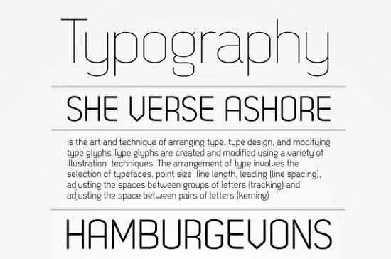 14 High Quality Fresh Free Fonts 2