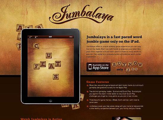 40 Beautiful and Creative iPad Application Websites 7