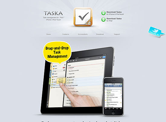 40 Beautiful and Creative iPad Application Websites 13