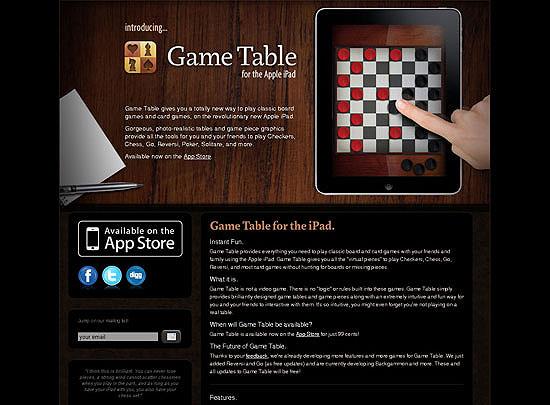 40 Beautiful and Creative iPad Application Websites 14