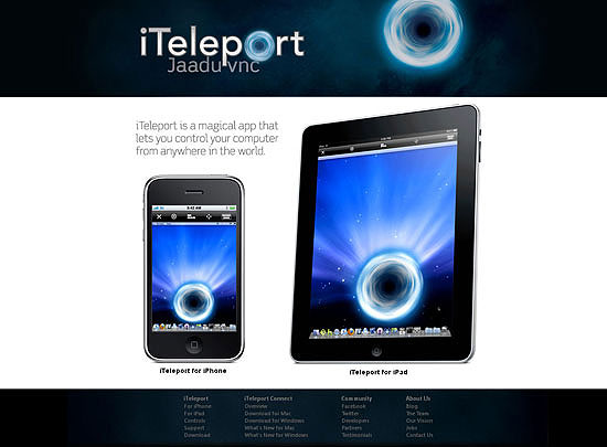 40 Beautiful and Creative iPad Application Websites 24