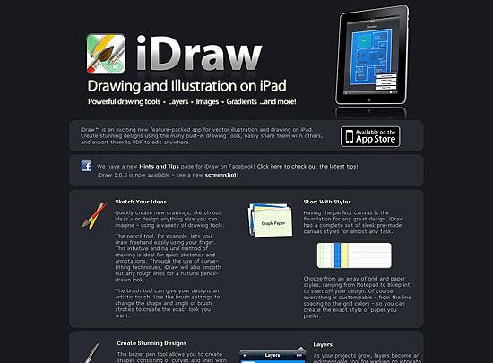 40 Beautiful and Creative iPad Application Websites 25