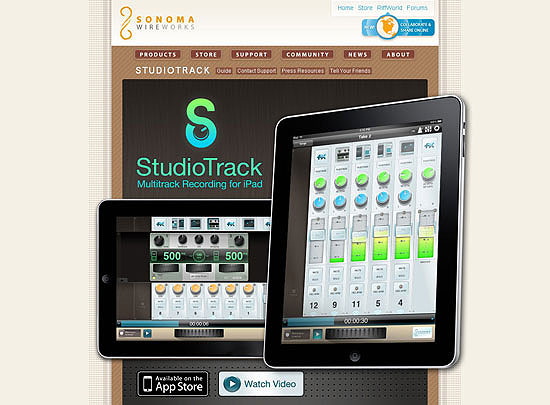 40 Beautiful and Creative iPad Application Websites 26
