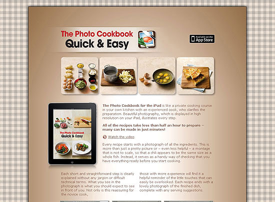 40 Beautiful and Creative iPad Application Websites