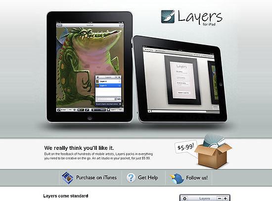 40 Beautiful and Creative iPad Application Websites 2
