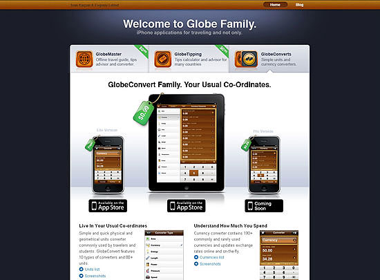 40 Beautiful and Creative iPad Application Websites 3
