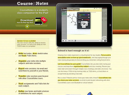 40 Beautiful and Creative iPad Application Websites 4