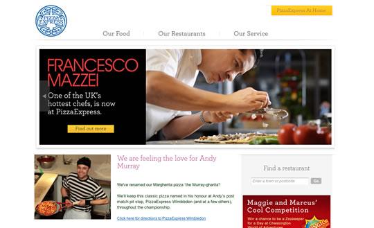 Showcase of Beautiful Restaurant Websites 15