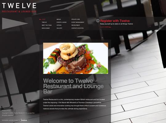 Showcase of Beautiful Restaurant Websites 17