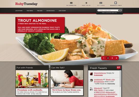 Showcase of Beautiful Restaurant Websites 19