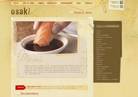 Showcase of Beautiful Restaurant Websites 29