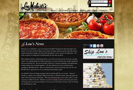 Showcase of Beautiful Restaurant Websites 3