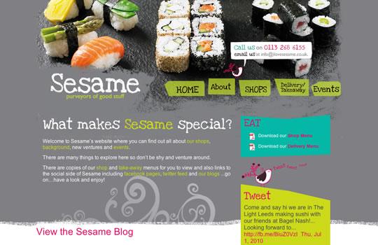 Showcase of Beautiful Restaurant Websites 38