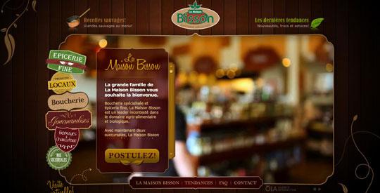 Showcase of Beautiful Restaurant Websites 41