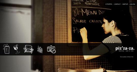 Showcase of Beautiful Restaurant Websites 42