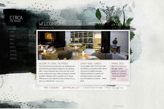 Showcase of Beautiful Restaurant Websites