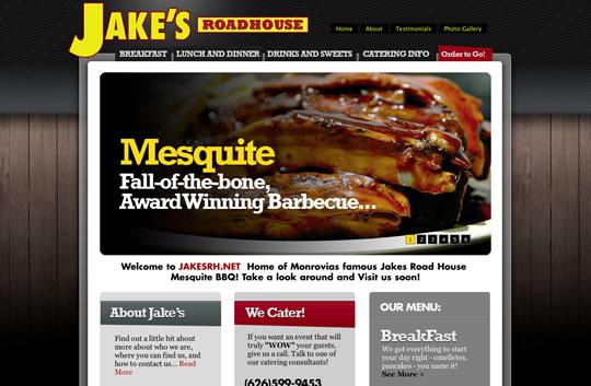 Showcase of Beautiful Restaurant Websites 5