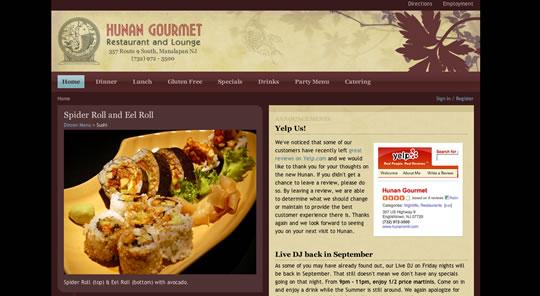 Showcase of Beautiful Restaurant Websites 6