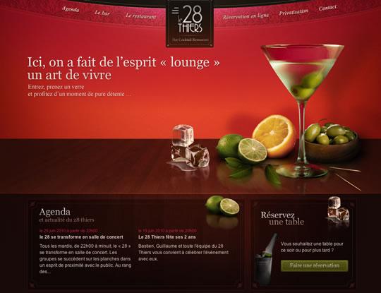 Showcase of Beautiful Restaurant Websites 7