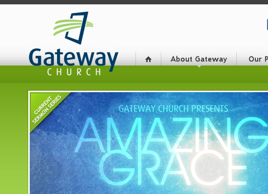 15 Beautiful Church Website Designs 10