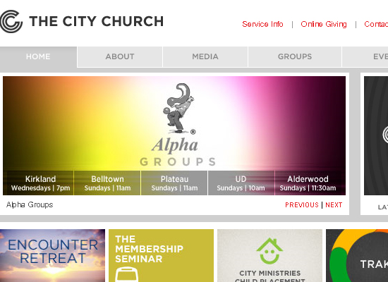 15 Beautiful Church Website Designs 11
