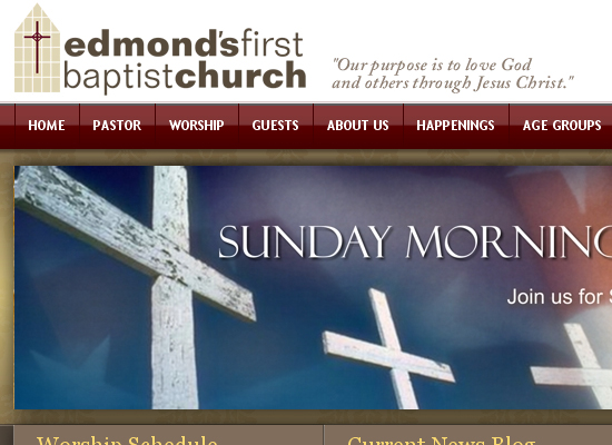 15 Beautiful Church Website Designs 12