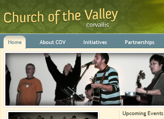 15 Beautiful Church Website Designs 3