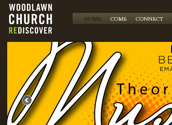 15 Beautiful Church Website Designs 4