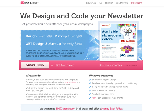 35 Beautiful DIV/CSS Web Designs For Your Inspiration 8