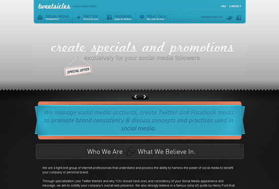 35 Beautiful DIV/CSS Web Designs For Your Inspiration 20