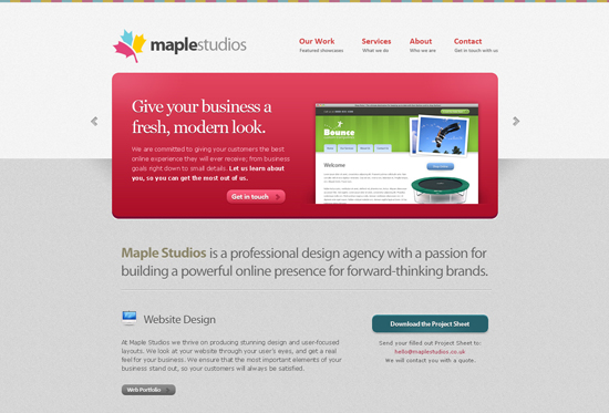35 Beautiful DIV/CSS Web Designs For Your Inspiration
