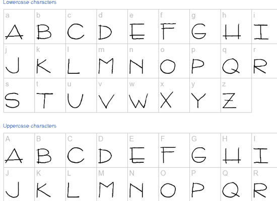 20+ Most Amazing Free Handwritten Fonts for Web designers 21
