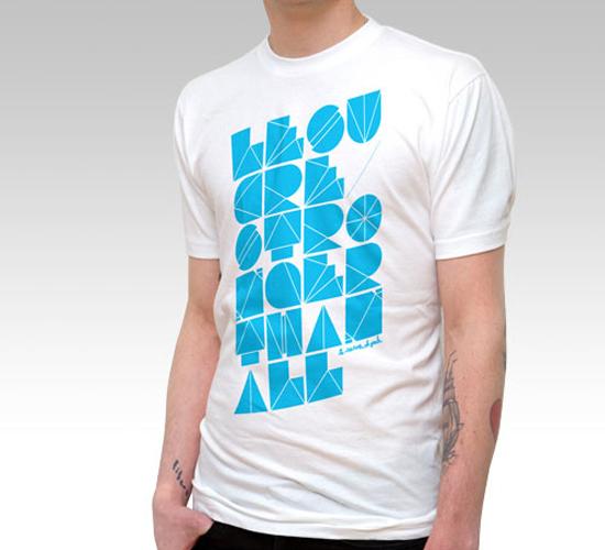 31 Stylish Typography T-Shirt Designs 16