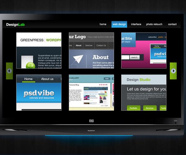 18 Amazing Photoshop Web Layout Design Tutorials 5